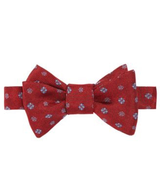 Brooks Brothers Men's Medallion Print To-Tie Bow Tie