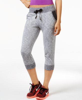 Ideology Cropped Jogger Pants, Only at Vogily