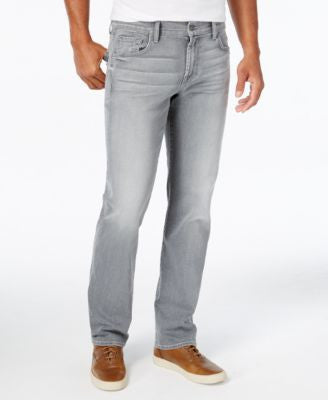 7 For All Mankind Men's Luxe Performance Dispatch Gray Jeans