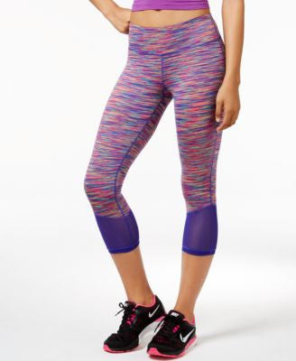 Ideology Space-Dyed Capri Leggings, Only at Vogily