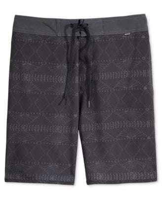 Hurley Men's Beachside Seaforth Geo-Print Hybrid Shorts