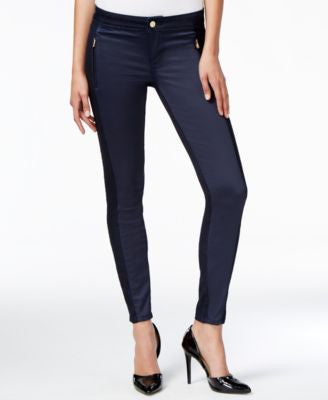 GUESS Marina Biker Silicone Rinse Skinny Jeans