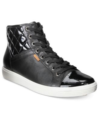 Ecco Women's Soft 7 Quilted High-Top Sneakers