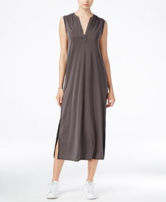 RACHEL Rachel Roy Split-Neck Midi Dress