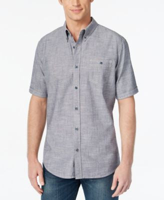 Weatherproof Vintage Short-Sleeve Button-Front Shirt