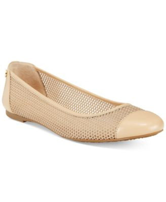 MICHAEL Michael Kors Joni Perforated Ballet Flats