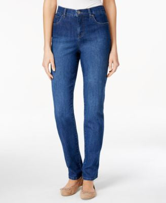 Style & Co. Tummy-Control Straight Leg Jeans, Only at Vogily