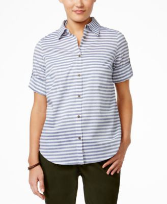 G.H. Bass & Co. Striped Short-Sleeve Shirt