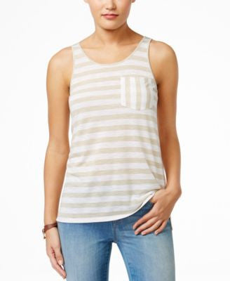 G.H. Bass & Co. Striped Tank Top