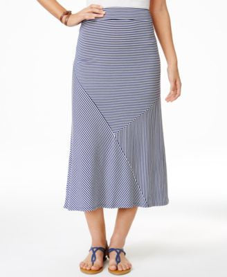 G.H. Bass & Co. Pull-On Midi Skirt