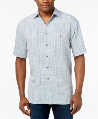 Campia Moda Shirt, Short-Sleeve Plaid Shirt