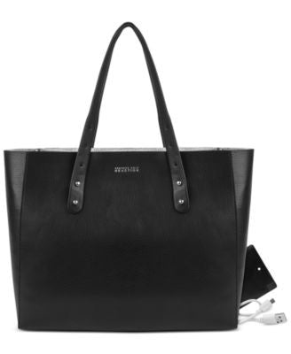 Kenneth Cole Reaction Heavy Metal Phone Charging Tote