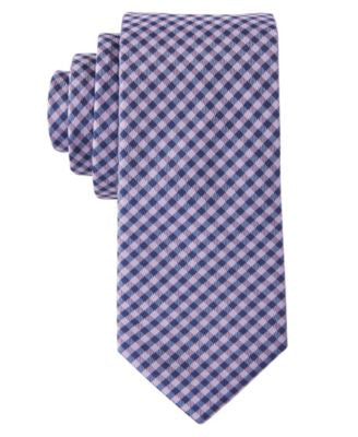 Hugo By Hugo Boss Men's Gingham Skinny Tie