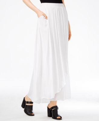 Armani Exchange Cascade Maxi Skirt