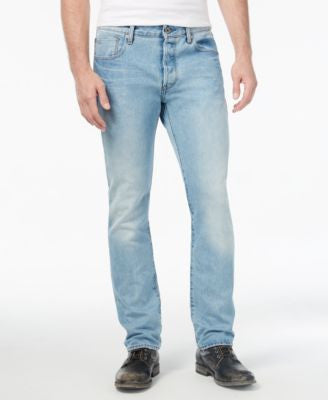 GStar Men's 3301 Deconstructed Straight Fit Jeans