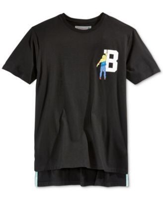 Black Pyramid Men's Letter Graphic T-Shirt
