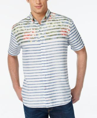 Tommy Bahama Men's Breton Bloom Breezer Linen Shirt