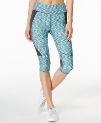 Calvin Klein Performance Space-Dyed Capri Leggings