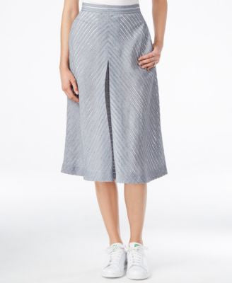 RACHEL Rachel Roy Pleated A-Line Skirt