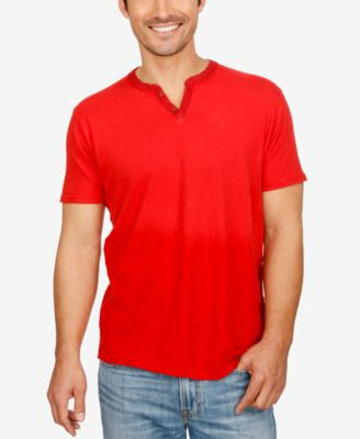 Lucky Brand Men's Notched Split-Neck T-Shirt