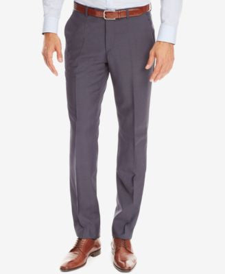 BOSS Regular/Classic-Fit Virgin Wool Dress Pants