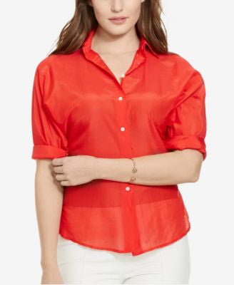 Lauren Ralph Lauren Plus Size Antionette Shirt