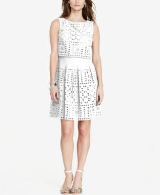 Lauren Ralph Lauren Petite Eyelet Dress