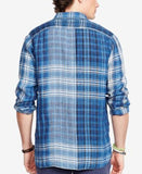 Polo Ralph Lauren Men's Indigo Plaid Popover