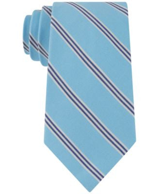 Club Room Men's Classic Umbrella Stripe Tie, Only at Vogily