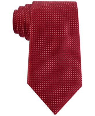 Club Room Men's Boxed Classic Neat Tie, Only at Vogily
