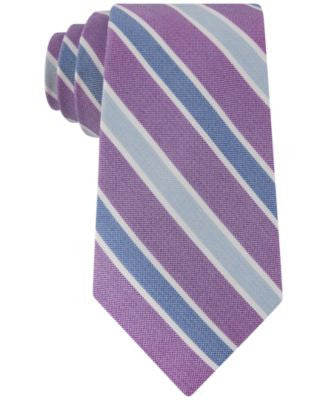 Club Room Men's Gypsy Classic Stripe Tie, Only at Vogily