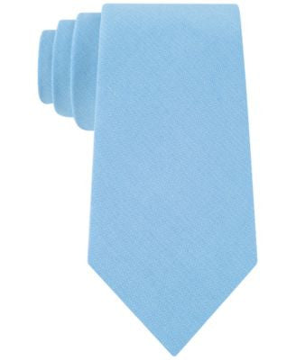 Club Room Men's Seaside Classic Solid Tie, Only at Vogily