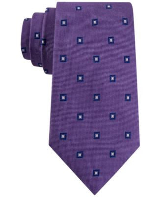 Club Room Men's Admiral Classic Neat Tie, Only at Vogily