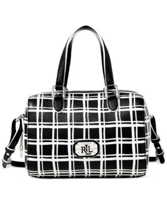Lauren Ralph Lauren Paley Mini Barrel Satchel