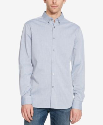 Kenneth Cole Reaction Men's Stripe Long-Sleeve Shirt
