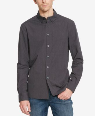 Kenneth Cole Reaction Men's Dot-Print Long-Sleeve Shirt