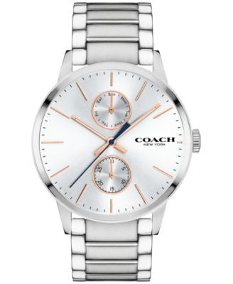 COACH Men's Metropolitan Stainless Steel Bracelet Watch 42mm 14602097