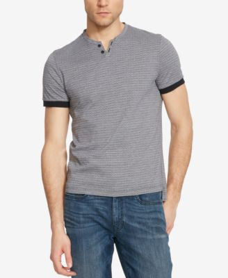 Kenneth Cole Reaction Men's Geo-Pattern Henley