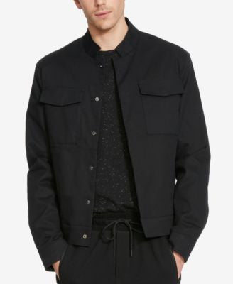 Kenneth Cole Reaction Men's Cropped Military Blazer