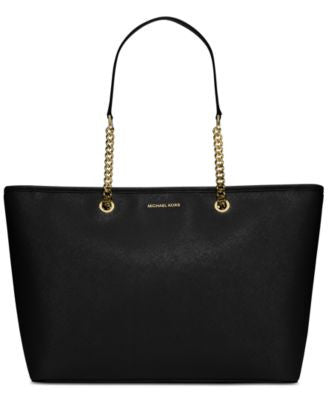 MICHAEL Michael Kors Jet Set Travel Chain-Strap Medium Multi-Function Tote