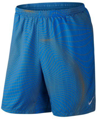 Nike Men's Distance Printed Running Shorts