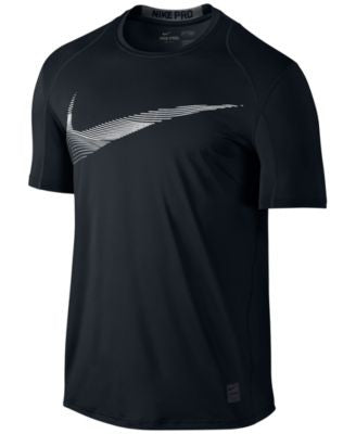 Nike Men's Pro Cool Fitted Logo T-Shirt