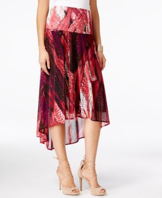 INC International Concepts High-Low Convertible Skirt Dress, Only at Vogily