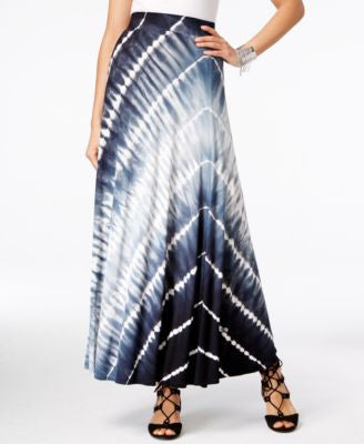 INC International Concepts Tie-Dyed Maxi Skirt, Only at Vogily