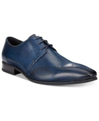 Bar III Men's Kane Brogued Wing Tip Oxfords, Only at Vogily