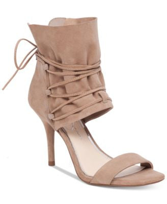 Jessica Simpson Madeena Lace-Up Two-Piece Sandals