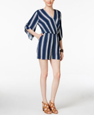 ECI Striped Romper