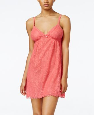 Morgan Taylor Allover Lace Chemise, Only at Vogily