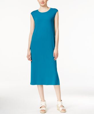 Eileen Fisher Petite Sleeveless Midi Dress
