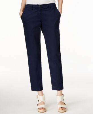 Eileen Fisher Petite Cropped Straight-Leg Pants